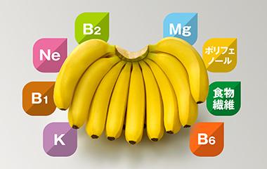 時間帯別・バナナのメリット|バナナのおいしい食べ方|バナナはスミフル